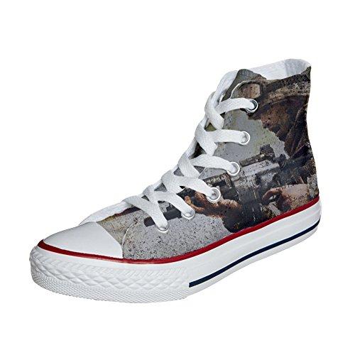 Star Converse avec produit Coutume All soldat un Chaussures artisanal qaw4Ta