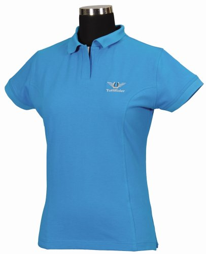 TuffRider Girl's Polo Shirt, Oce...
