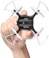 Mini micro Drone SYMA X20 Pequeño Cuadricoptero juguetes para niños con el modo sin cabeza, alta altitud, Giro de 360 grados y un botón de despegue/aterrizaje(Oro)