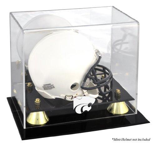 Kansas State Wildcats Golden Classic Logo Mini Helmet Display Case