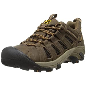 41jyrPhUxTL. SS300  - Keen Voyageur Hiking Shoe - Men's Black Olive/Inca Gold, 10.0