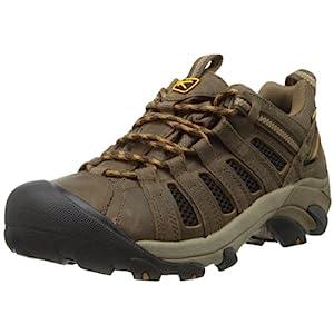 41jyrPhUxTL. SS300 - Keen Voyageur Hiking Shoe - Men's Black Olive/Inca Gold, 10.0