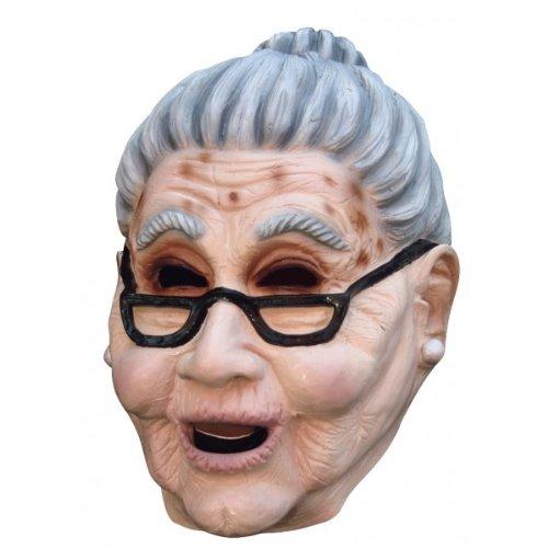 [Grandma Old Woman Mask] (Old Grandma Costumes)
