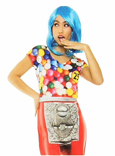 Faux Real Photorealistic Womens Gumball Dress (X-Large)]()