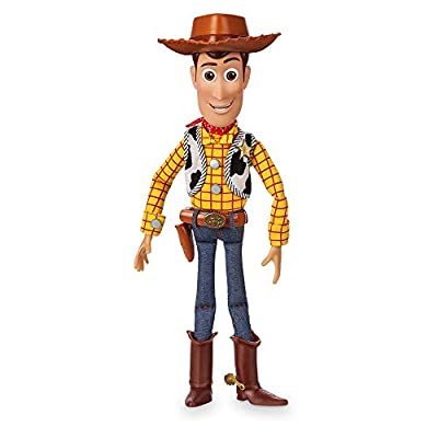 Disney Woody Interactive Talking Action Figure - Toy Story - 15 Inch