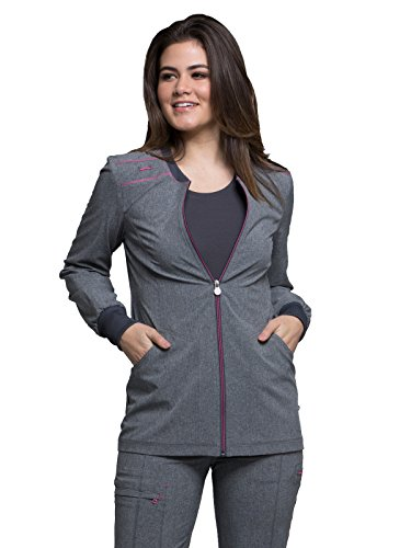 Cherokee Infinity Zip Front Warm-Up Jacket
