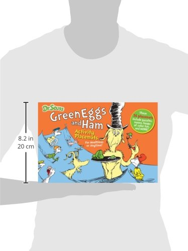 Dr. Seuss Green Eggs and Ham Activity Placemats: For mealtimes or anytime! (Dr. Seuss Activity Books) by Fun To Collect (Image #1)