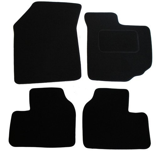 JVL Fully Tailored Car Mat Set - Black 1282