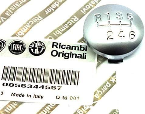 Kappe Alfa Romeo 159 Brera Spider 5 GANG 05-11 LEDER Schaltknauf Schalthebel