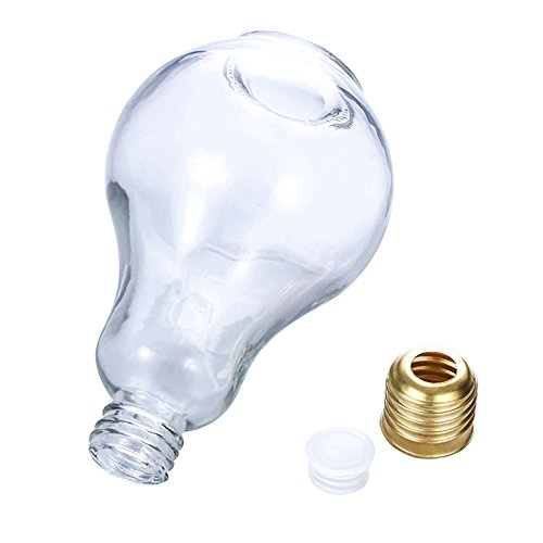 Refaxi Children Light Bulb Bottle Plastic Bottle Shaped Drink Cup Christmas Thanksgiving Children Gift 500ml by ReFaXi (Image #2)
