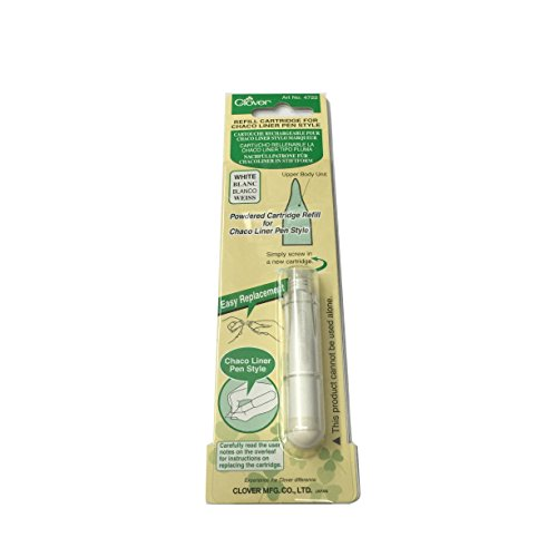 Clover Chalk Refill for Chaco Liner Pen Style - 4722 -
