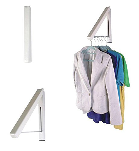 VIPASNAM-1pcs Stainless Folding Hanger Wall Mount Retractable Clothes Indoor Hangers - Cheapest Sale Online Sunglasses
