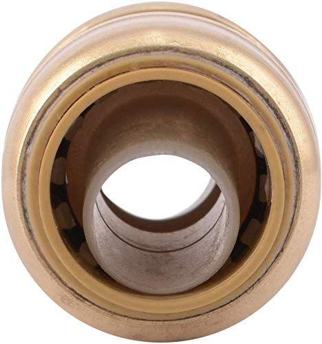 Copper Plumbing Pipe Connector 3//4 in CPVC, Push-to-Connect PEX Fittings