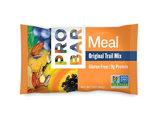 PROBAR - Meal Bar, Original Trail Mix, 3 Oz, 12 Count - Plant-Based Whole Food Ingredients