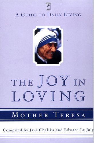 The Joy in Loving: A Guide to Daily Living (Compass) cover