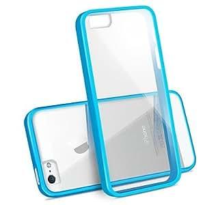 TY- Anti-cero estuche rígido transparente para iPhone 5/5S (colores surtidos)