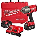 Milwaukee M18 FUEL with ONE-KEY 18-Volt Lithium-Ion Brushless Cordless 1/2 in. High Torque Impact Wrench with Friction R