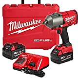 Milwaukee Electric Tools 2863-22 M18 Fuel Onekey 1/2″ High Torque Impact Wrench Kit For Sale