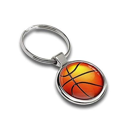 Llavero Baloncesto Basketball Metal Keyring Llave de Coche ...