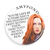 Doctor Who Companion Amy Pond Biting 1.5 Inch Fridge Magnet