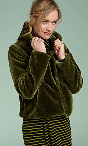 Louie Giacca King Tinta Oasis Manica Green Lunga Unita Donna dpwvwf