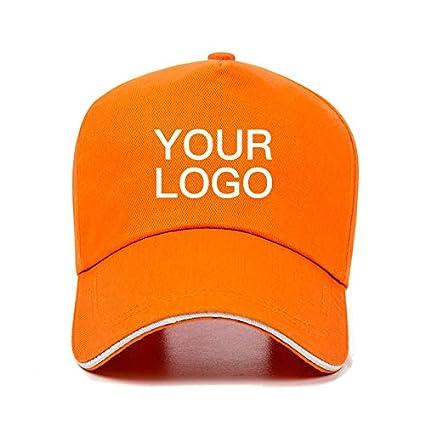 AAMOUSE Gorra de Beisbol Logotipo Personalizado de algodón Hombres Mujeres béisbol Gorra de béisbol Sombrero Ajustable