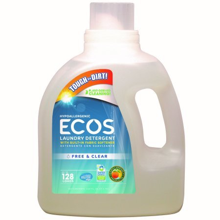 (ECOS Liquid Laundry Detergent Free & Clear, 128 Oz)