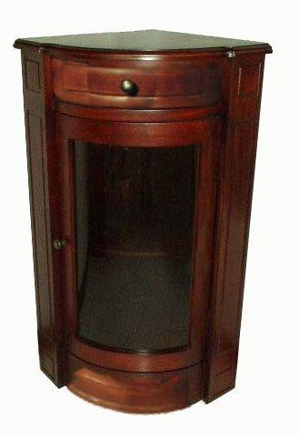 Collection Corner Curio - D-ART COLLECTION Corner Short Bookcase, 35