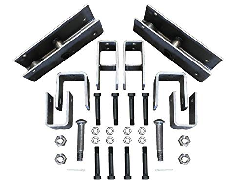 Tandem Trailer Axle Slipper Hanger Kit for 5200-8000 Pound Trailer Axles