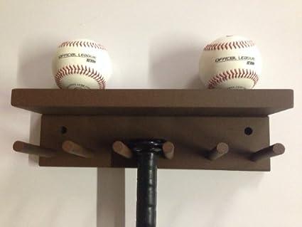 Amazon.com: Béisbol y softball Bat rack Meant to Hold de ...