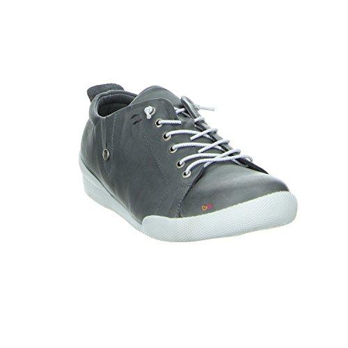 Andrea Conti 0345724 032 Antraciet Laag Top Sneaker Anthrazit