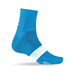 Giro Classic Racer Socks Blue Jewel/White, S - Men\'s