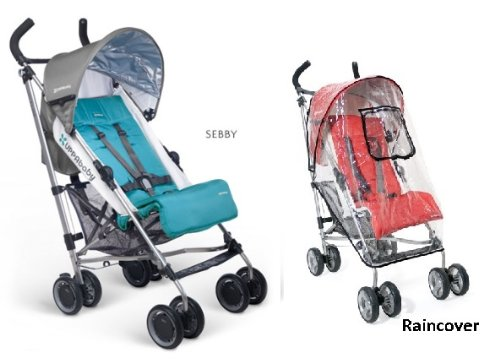 Uppa Baby G-Luxe Stroller WITH Raincover (Sebby) by UPPAbaby