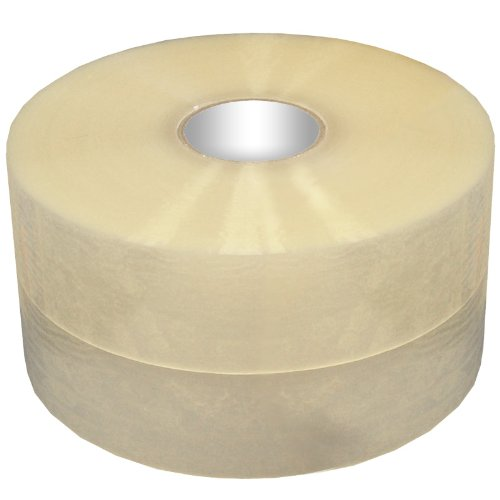 Clear Hot Melt Packaging Tape 1.6 mil, 2