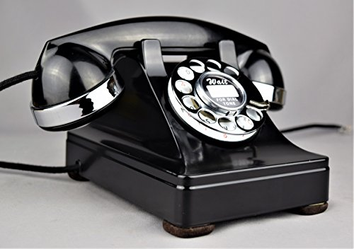 302 Phone (Original Western Electric Model 302 Telephone with Chrome Trim)