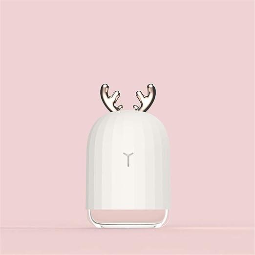 Ysss Mini humidificador Tipo Conejo de Elk, Coche casero, Lindo ...