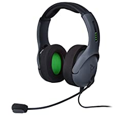 PDP LVL50 Wired Stereo Headset for Xbox One, 048-124-NA-BK, Black - Xbox One