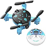 KOOME Mini Nano RC Drone for Kids Gift Portable Pocket Quadcopter with Headless Mode, 3D Flip, 3 Speed Modes USB Charger Easy to Fly for Beginners