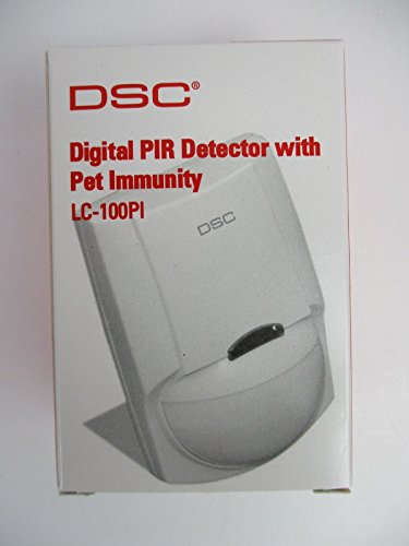 Pet Immunity Pir Detector - DSC LC-100-PI - Digital PIR Detector with Pet Immunity