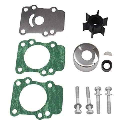 Big-Autoparts Water Pump Impeller Kit for Yamaha 9.9 15 hp Outboard 682-W0078-A1-00 18-3148