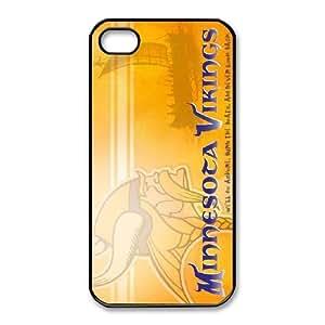 iPhone 4,4S Phone Cases NFL Minnesota Vikings Cell Phone Case TYE778012