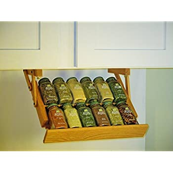 Amazon Com Ultimate Kitchen Storage Under Cabinet Spice