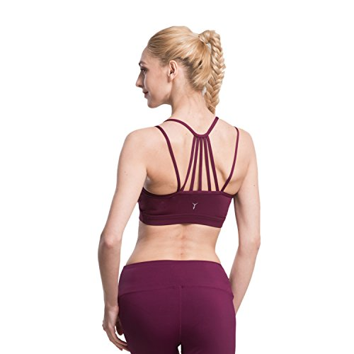Yoga sportivo AIYIHAN Rimovibili Fitness Donna e Palestra Imbottite Prugna Reggiseno t1BqxaP