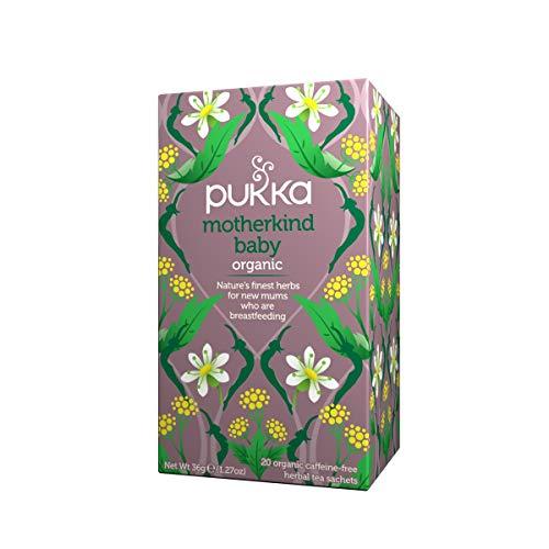 PUKKA - Motherkind Baby - Te con las Mejores Hierbas Naturales para Ayudar a los Nuevos Madre Durante la Lactancia - 20 Filtros
