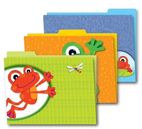 Carson Dellosa Funky Frogs File Folders (136008) ()