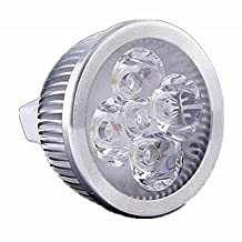 Dimmable MR16 5W 500-550LM LED Spot Bulb (AC/DC 12V) , cold white