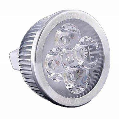 Bombillas, GU5.3 5 W 5 LED de alta potencia 550 lm blanco cálido