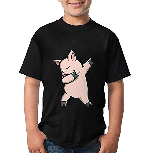 DAB Joker Pig Kids Running Shirts 3D Printed Tee Round Top (Joker Costume Ideas For Kids)
