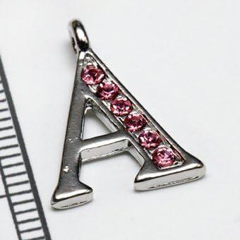 【イニシャルパーツ】 A (ピンク)
