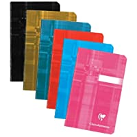 Clairefontaine Staplebound 3.5X5.5 Ruled Set of 3